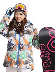 Women's Fashional Thermal Thick Waterproof Skiing Jackets