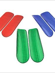 pegatinas epoxi reflectantes de seguridad del vehículo (coche de tamaño xl / par)