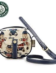 DAKA BEAR® New Brand Women Preppy Style Messenger Bags Girl Vintage Waterproof Nylon Shoulder Bags Casual Bags