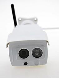 h232e-sem caméra HD 720p 1.0MP balle ip avec wifi et une carte de tf fente p2p IR