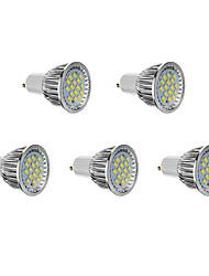 GU10 LED Spot Lampen 16 SMD 5730 640 lm Kühles Weiß AC 85-265 V 5 Stück