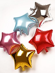 25 Pcs Five-Pointed Star Metallic Balloon(More Color)