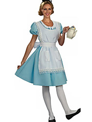Lovely Alice Maid Cotton Halloween Female Uniforms