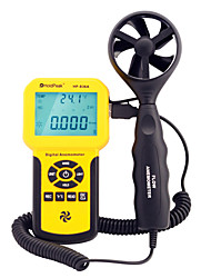 holdpeak poche haute précision de type split anémomètre compteur d'air vent du compteur numérique hp-836a