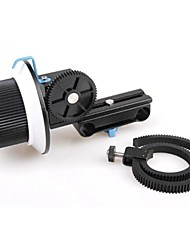 профессиональный DSLR последующей фокусировки f1 для 15мм стержня поддержка 5D2 7d GH2 GH1 60dcamera DV HDV характеристики