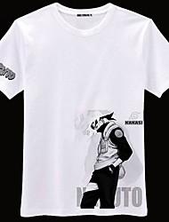 naruto hatake kakashi manga corta de algodón traje de cosplay
