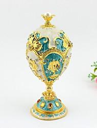 New Design The Petroika Larissa Faberge-Style Enameled Egg