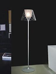 corte simples luminária de piso de vidro