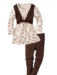 Girls' New Fashion Style Sport and Casual Three-piece suit Clothing Sets