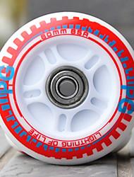 PU Skate Wheels for Roller Skates Shoes 80MM 8 PCS