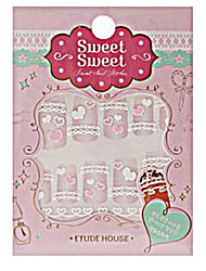 Etude House SWEET SWEET Sweet Nail Sticker (Pitapat Heart)-1 piece