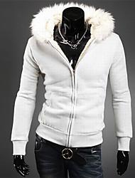 HUIZI Men's Casual Hoodie Thermal Sweater