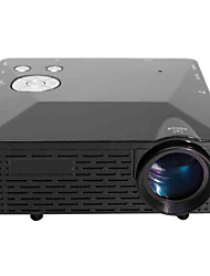 LP-6B Portable FHD 1080P LED Projector w/ HDMI, VAG, USB 2.0, AV, SD