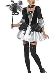 fantasía barroca traje del carnaval de vestir de las mujeres de smiffy