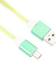 95см Micro USB алюминиевый лапши кабель для HTC / Xiaomi / Huawei