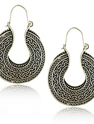 New Vintage Style Antique Silver brincos pendientes earrings for women