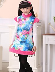 pannello esterno della maglia di stile cinese ragazze
