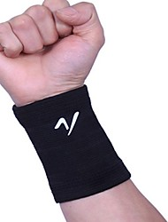Outdoors Polyester Black High Elasticity Hand Wrist Band