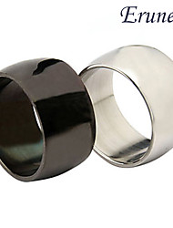 Eruner®Unisex Wide Surface Titanium Steel Ring