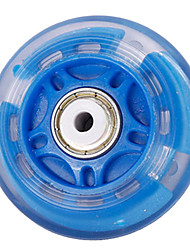 PU Skate Wheels for Roller Skates Shoes 70MM 8 PCS More Colors available