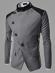 HUIZI Men's Fashion Korea Style Slim Blazer