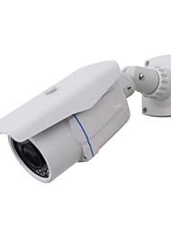 venta al por mayor hd cctv ir de la cámara de seguridad de bala impermeable para 1/3 CMOS 1200tvl con 24pcs IR LED 20meters w7346r18
