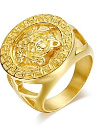 Super Man Domineering 24K Gold Men's Ring