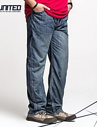 Men's Jeans , Casual/Work/Formal/Sport Pure Cotton/Denim/Polyester
