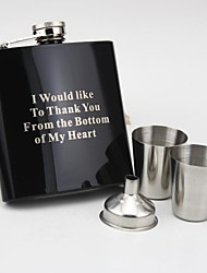 Personalized Gift  Black Paint 6 oz  Blessing Suit