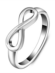 Fashion Stainless Steel Infinity Ring