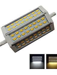 R7S LED Floodlight Recessed Retrofit 48 SMD 5630 1000 lm Warm White / Cool White Decorative AC 85-265 V