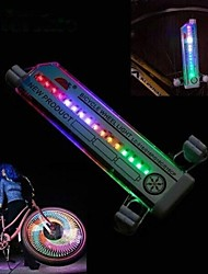 LS086 16 Led 32 Changes Cycling Bike Bicycle Wheel Tire Valve Flash Light