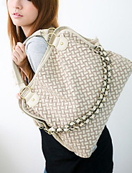 mandy Frauen Normallack Multifunktionshandtasche