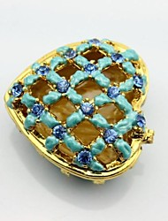 Heart Shape Trinket Box Ring Box