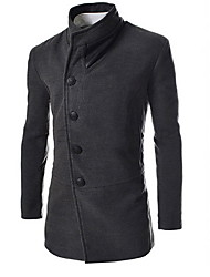 Джонни мужская мода тонкий лацкан шеи пальто