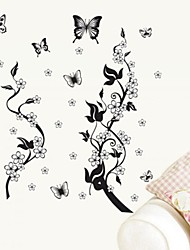 Wall Stickers Wall Decals Butterfly Style Decorative Sticker