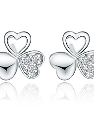 Aimei Women's 925 Silver Fashion Earrings