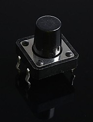 4-pin Tact Switch Tactile Push Button Switch DIY 12 x 12 x 11mm (20 pcs)