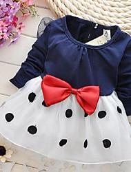 vestido del arco del punto dulce manera de la muchacha