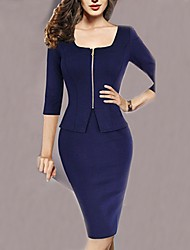 Milliya Women's Fashion Casual Elegant Half Sleeve Dress