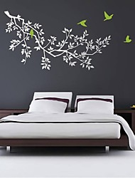 Wall Stickers Wall Decals, Modern Tree Branch PVC Wall Stickers.
