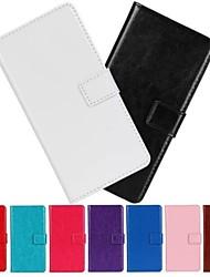 Pour Coque Huawei Portefeuille / Porte Carte / Avec Support / Clapet Coque Coque Intégrale Coque Couleur Pleine Dur Cuir PU Huawei Other