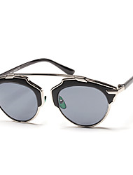 Anti-Reflective Round PC Retro Sunglasses