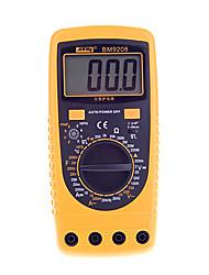 LCD digitale display multimeter bm9208 multifunctionele elektrische instrument szbj