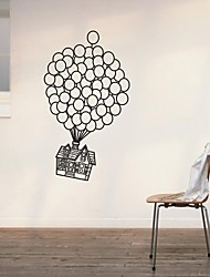 Wall Stickers Wall Decals, Home Decoration UP House Nursery Poster PVC Mural Wall Stickers