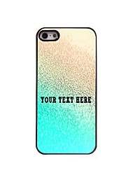 Personalized Phone Case - Gold Design Metal Case for iPhone 5/5S
