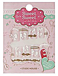 Etude House SWEET SWEET Sweet Nail Sticker (Pure Ribbon)-1 piece