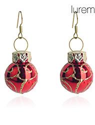Boucle Boucles d'oreille goutte Bijoux Soirée / Quotidien Cuivre Femme Doré / Rouge