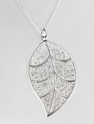Uyuan Women's 925silver Silver Ornament Exaggeration  Pendant
