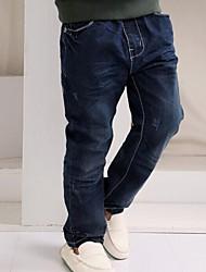 Boy's Cotton Jeans , All Seasons